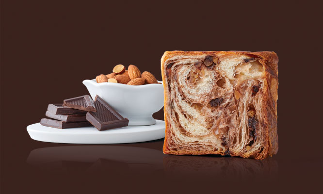 Marble danish Chocolate & chocolate